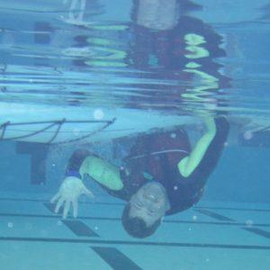 Cory Kayak Underwater